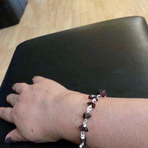 Jewelry - Price ✂️🌺Garnet Bracelet 🌺